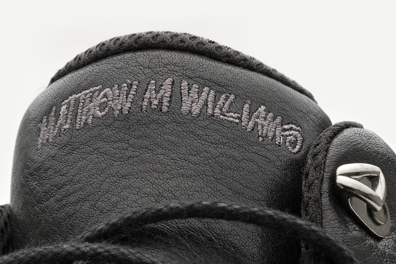 ROA, Matthew M. Williams x Stüssy FW19 Tee, Shoe shirt sneaker boot garment dye mud treatment applique collaboration collection release date october 18 25