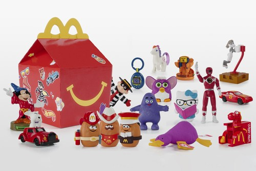 McDonald's Is Bringing Back Beloved Toys to Celebrate 40th-Anniversary of the Happy Meal