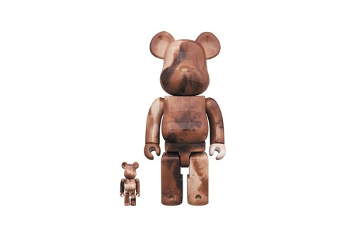 Medicom Toy & Pushead Link up for Polished Earth-Toned BE@RBRICK
