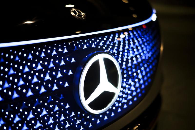 Mercedes-Benz Vision EQS First Exclusive Look