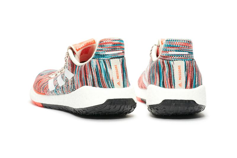 missoni adidas consortium pulseboost hd release information buy cop purchase pre order details white orange Italian sneaker running trainer Ef7541 Core Burgundy/Core Black  Ef7543 Tech Mint/Core BurgundyEf7548