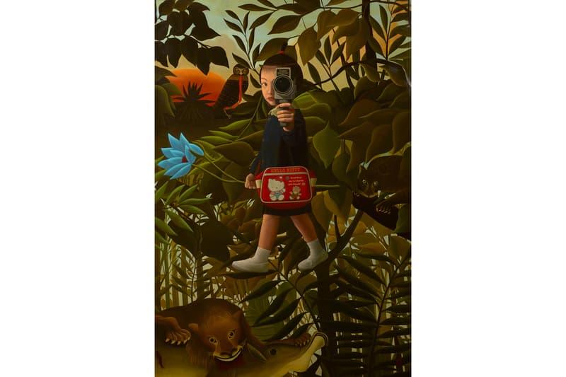 Mitsuru Watanabe Rehs Contemporary Galleries Naoko Yukiko Surrealist Paintings