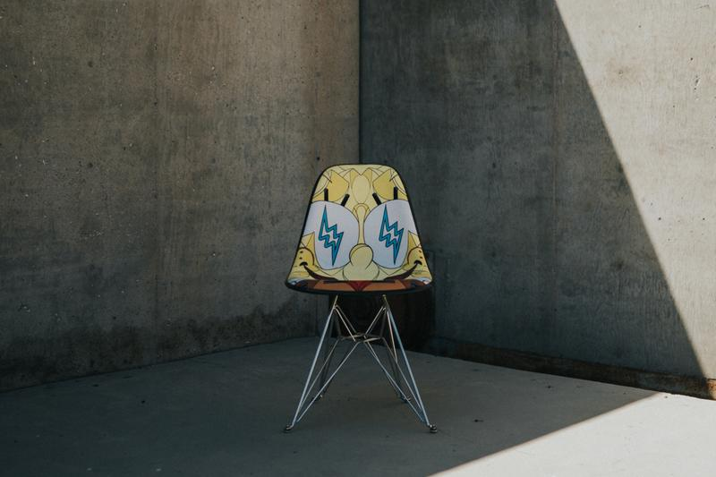 'Spongebob Squarepants' x J Balvin x Louis De Guzman x Modernica Collection Furniture First Look Release Information Daybed Upholstered Fiberglass Chairs Fiberglass Chairs
