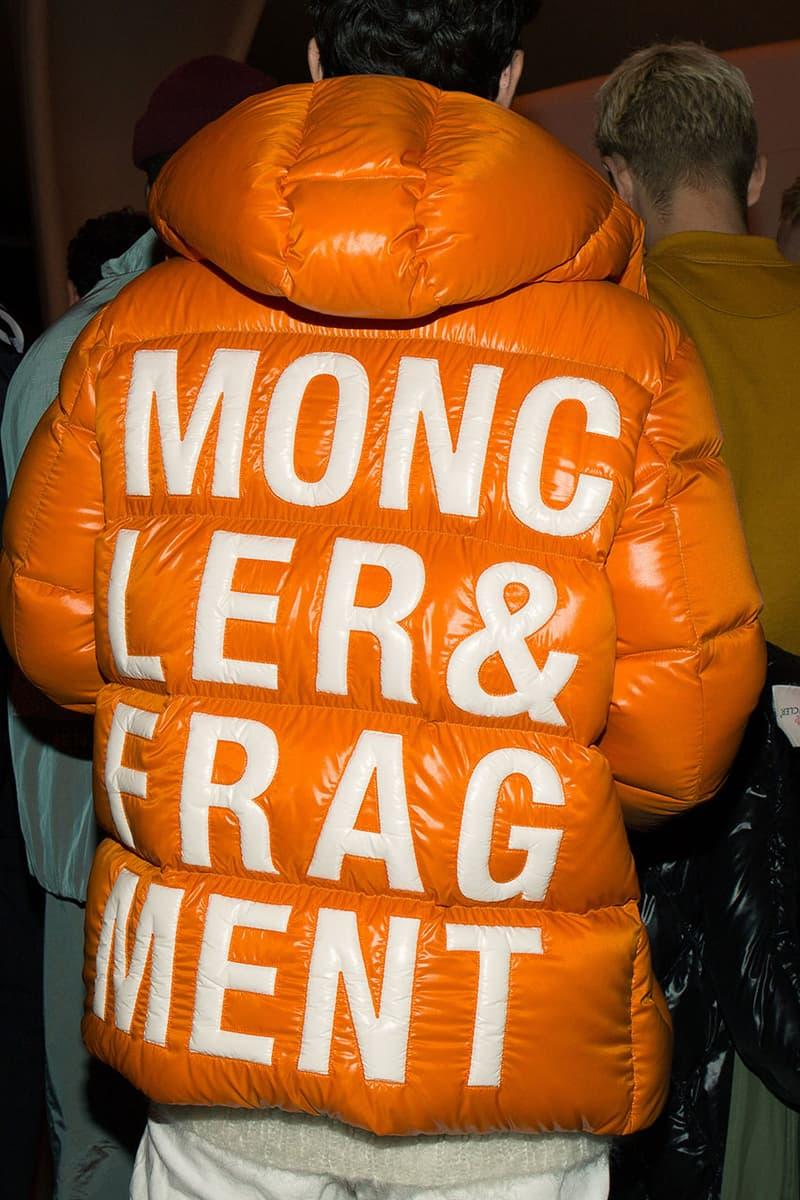 Moncler 7 fragment design Serpentine Gallery Event Hiroshi Fujiwara Remo Ruffini Rick Owens Gully Guy Leo Simran Randhawa Yasmine Sima Tiffany Calver Cleo Sol Joan Smalls