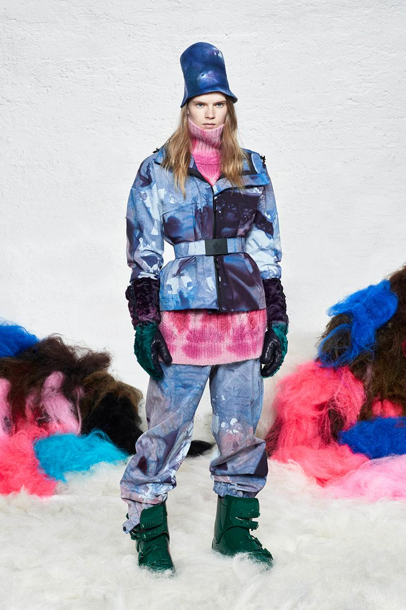 Moncler Genius Unveils Latest Festival-Inspired Collection For Moncler Grenoble Fashion Luxury Performance Technical Material Colour