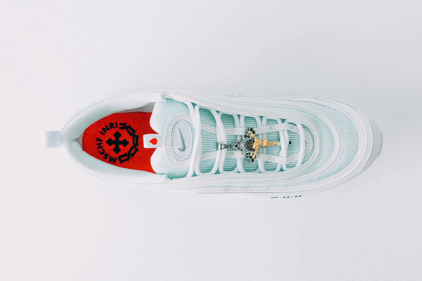 nike, Nike Air Max 'Jesus Shoes' are filled with actual holy water