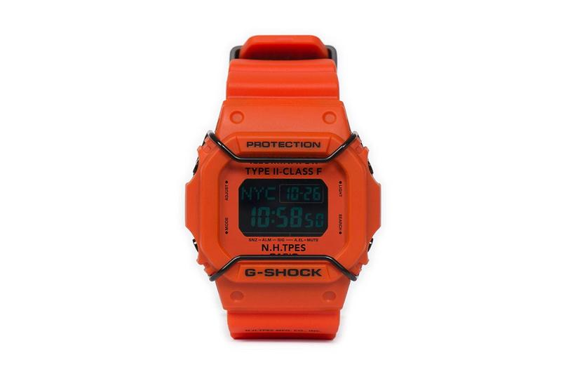 N.HOOLYWOOD x Casio G-SHOCK DW5600 FW19 Collaboration watch timepiece fall winter 2019 october 26 release date Japan