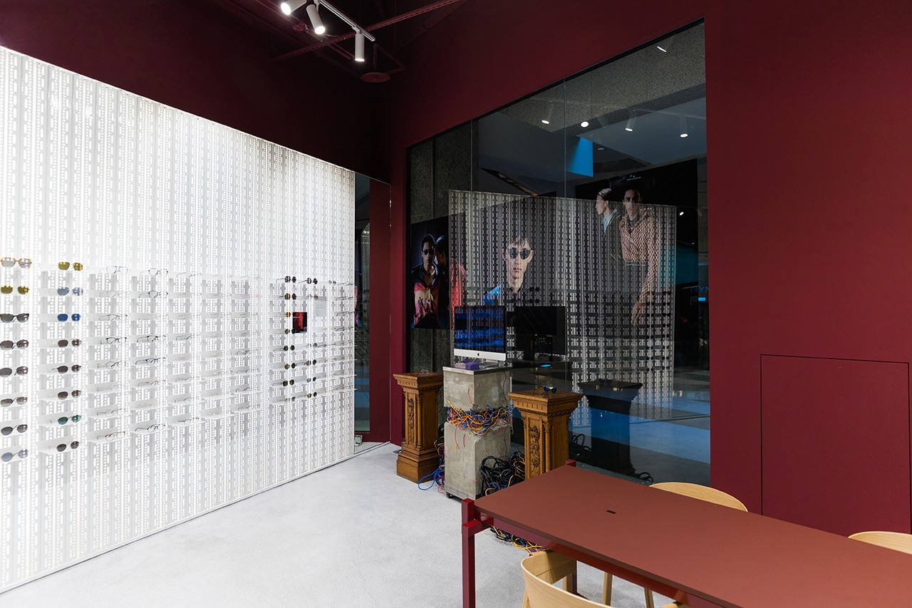 Necessity Sense MYKITA Fall/Winter 2019 Sunglasses Collection Mizuho Kaito Blue Cat Eye Rectangular