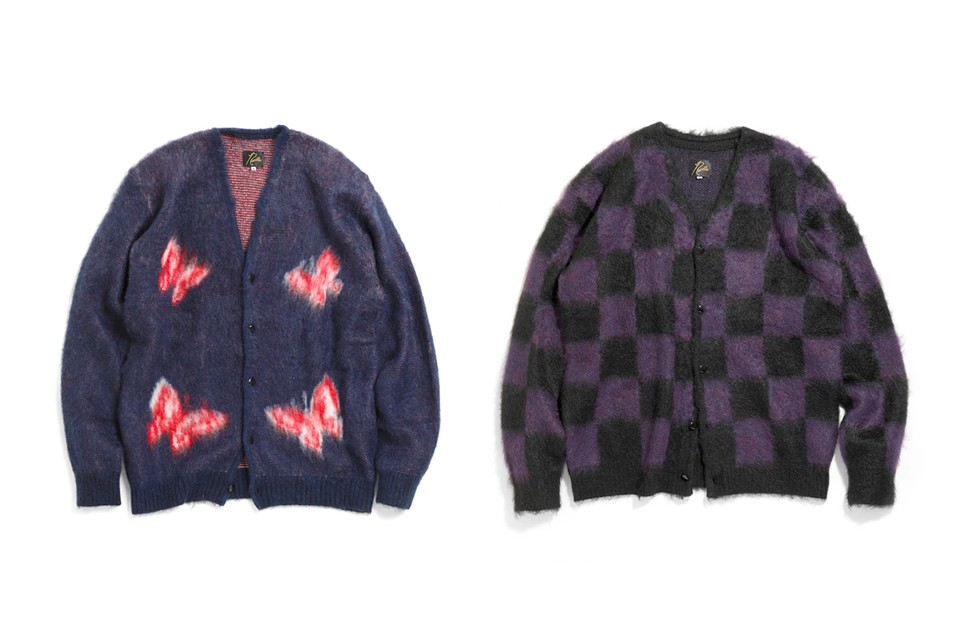 Needles Drops a Trio of Vibrant Mohair Cardigans