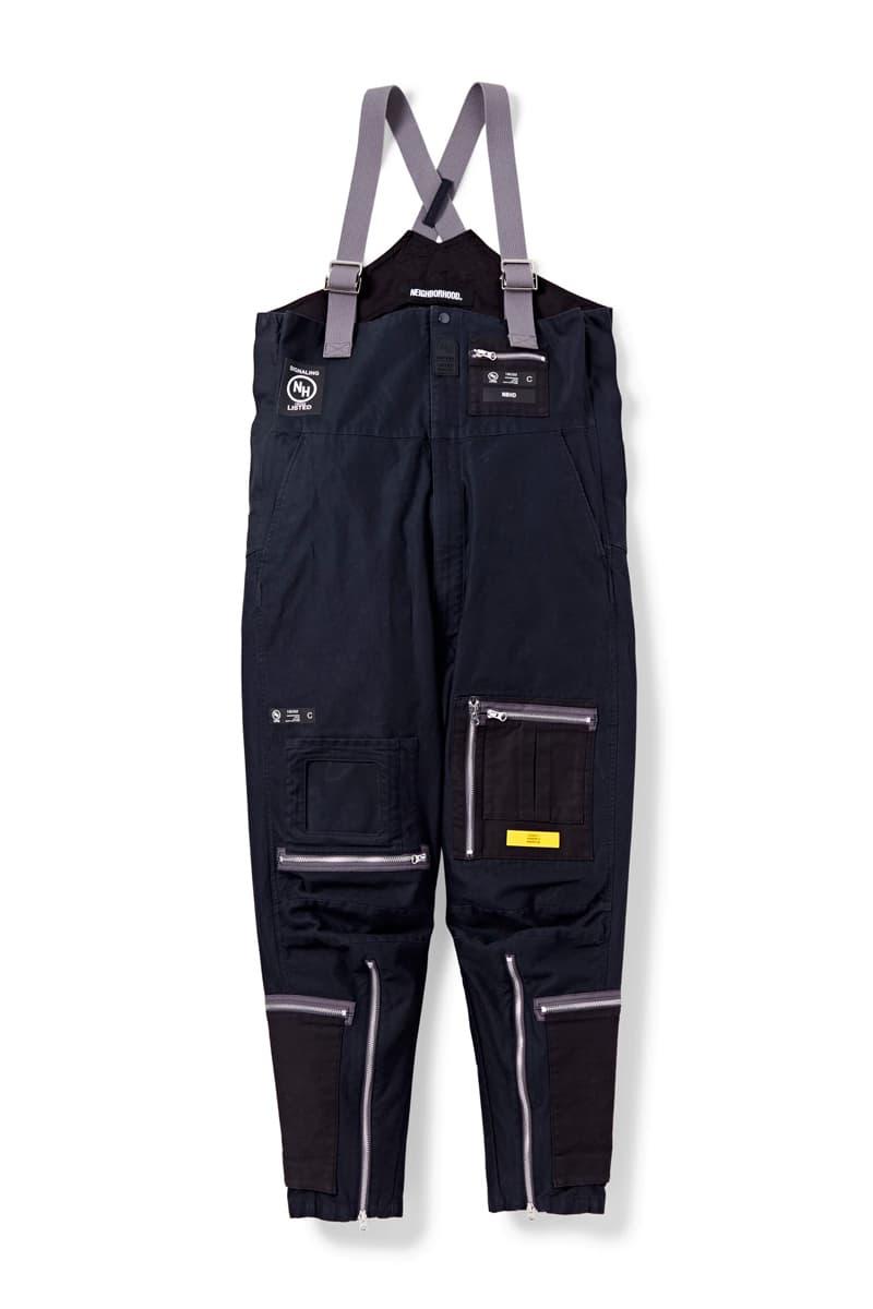 NEIGHBORHOOD MC SUIT C PT MK3 flight suit boiler one piece full body functional utilitarian gray navy olive japanese shinsuke takizawa