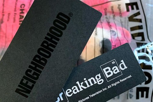 Shinsuke Takizawa Teases NEIGHBORHOOD x 'Breaking Bad' Collaboration