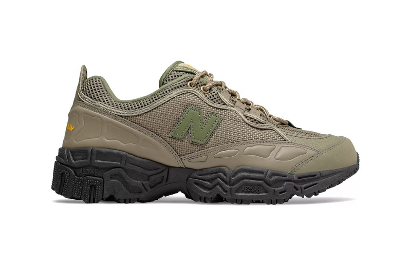 """New Balance 801 Lands in Earthy """"Covert Green/Black"""" Colorway"""