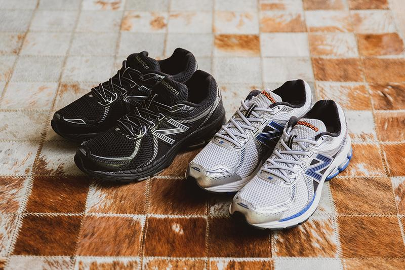 New balance 860 v2 white black silver orange blue footpatrol running sneaker 1990s revival buy cop purchase release information