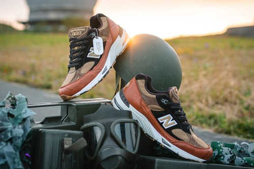 """New Balance 991 Gets an Earthy, """"Camo Pack"""" Makeover"""