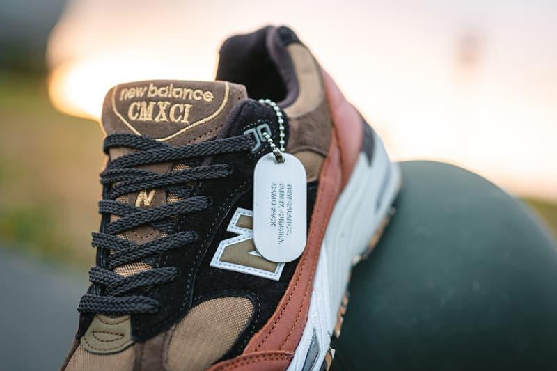 new balance 991 camo pack brown black tan M991SOP flimby cumbria cmxci
