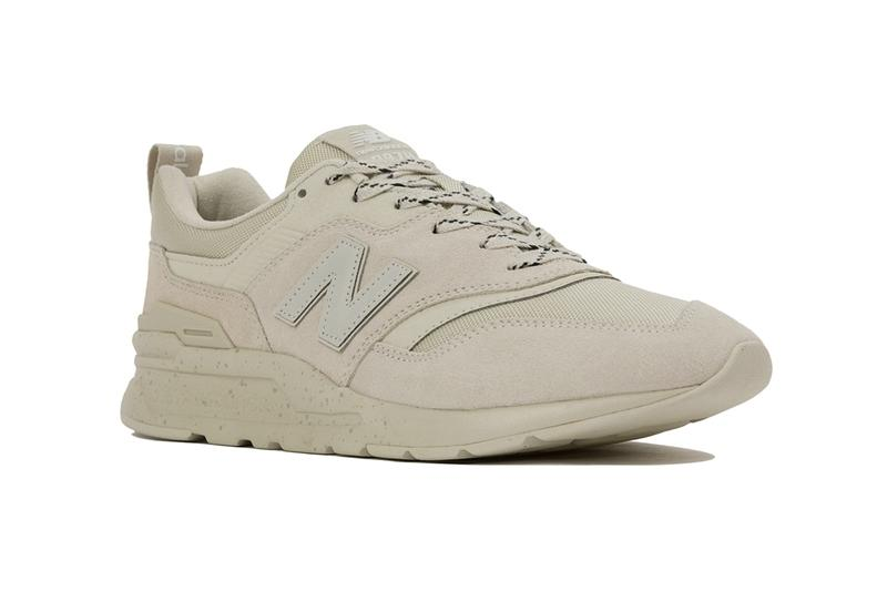 New Balance CM997HCX CY CZ Khaki black oyster sneakers footwear shoes silhouette cordura suede japan fall winter 2019 technical 1990