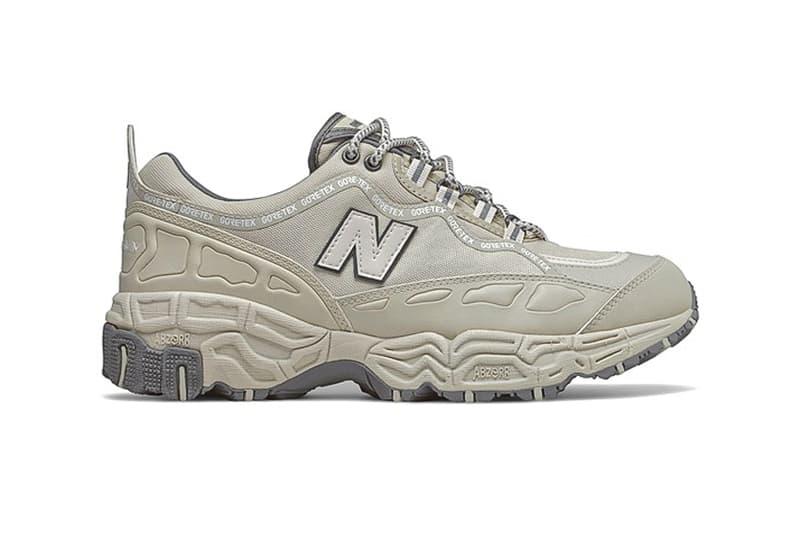 New Balance ML801GTB Gore Tex ml801gwb monochromatic black white trail runner trainers shoes footwear sneakers waterpoof 1998 retro