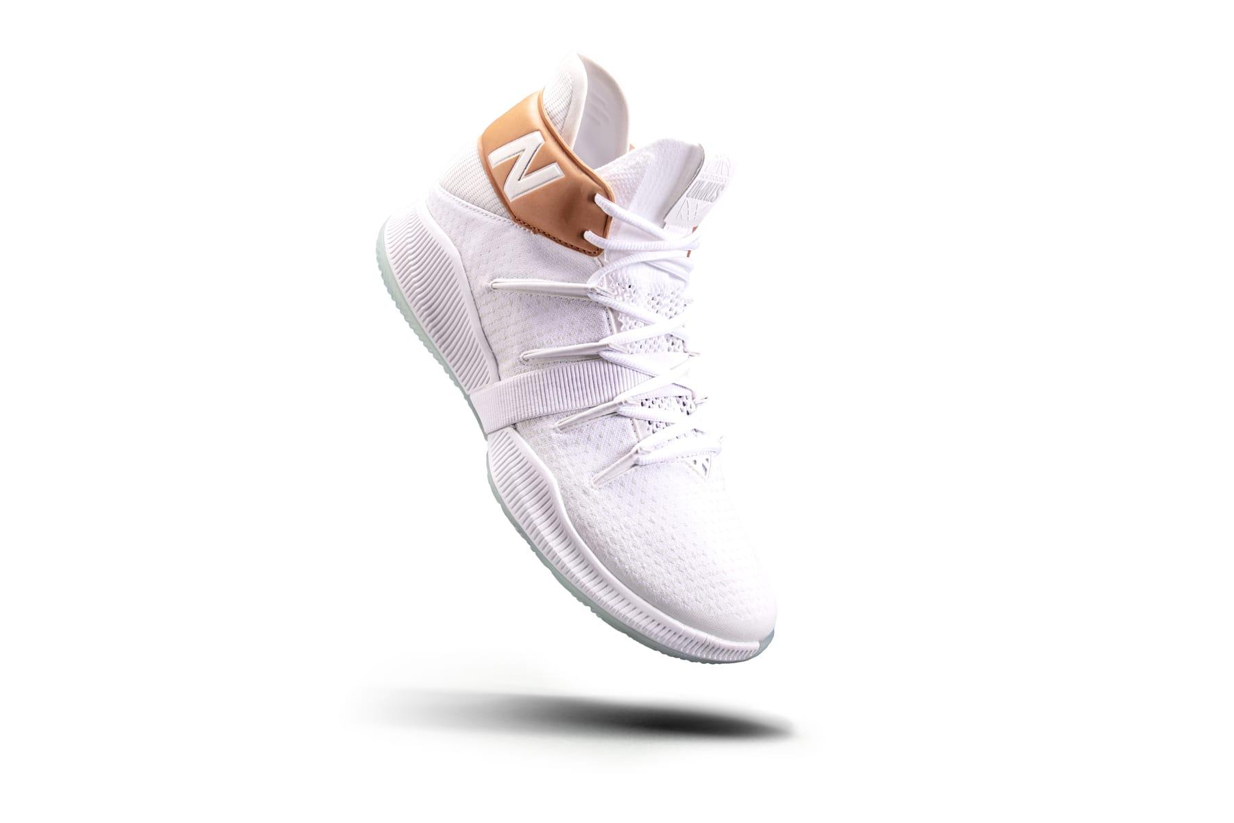 world balance basketball shoes white