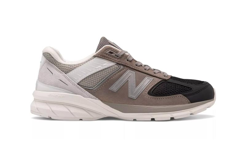 New Balance Made in US 990v5 Black Marblehead comfort insert ortholite ultra soft footwear sneakers shoes handmade ENCAP PU ring EVA core