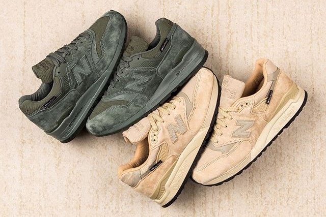 New Balance Apples Cut & Abrasion Resistant SuperFabric to the 997 & 998