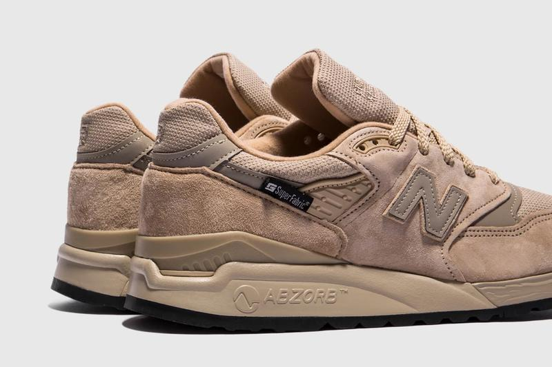 New Balance SuperFabric 997 998 made in usa M997NAL M998BLC packer shoes release info sneakers packer shoes olive tan