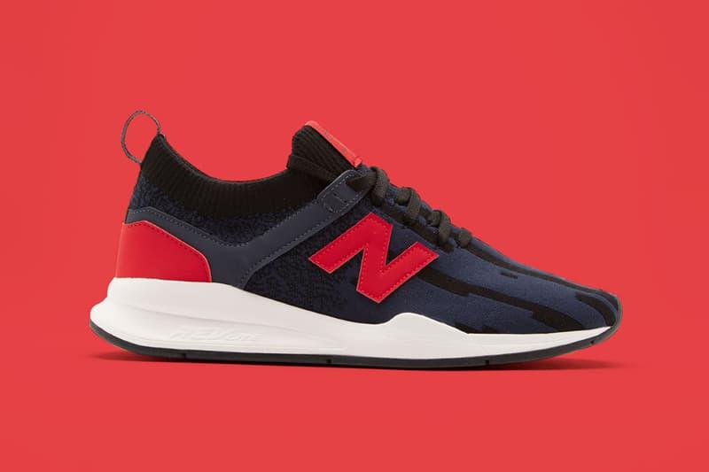 Unmade New Balance 111 Knit Sneaker Release Customization Black Red Navy Cashmere Purple Orange White Rad Stripe Ombre Olive Green