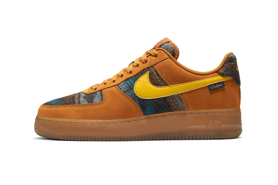 """Take an Official Look at the Nike Air Force 1 """"N7 Pendleton"""""""