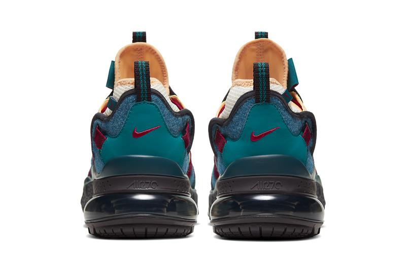 nike air max 270 bowfin celestial gold blue force geode teal noble red CT1196 200 release date info photos
