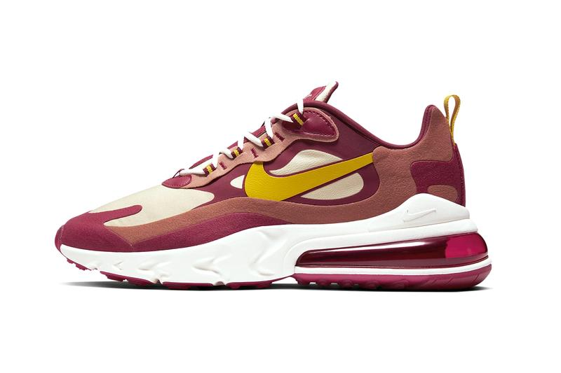 Nike Air Max 270 React Noble Red Release Info Hypebeast
