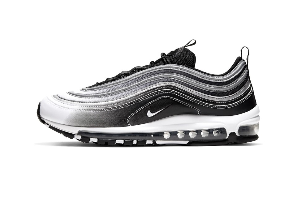 Nike Air Max 97 Black Black Reflect Silver White Hypebeast Drops