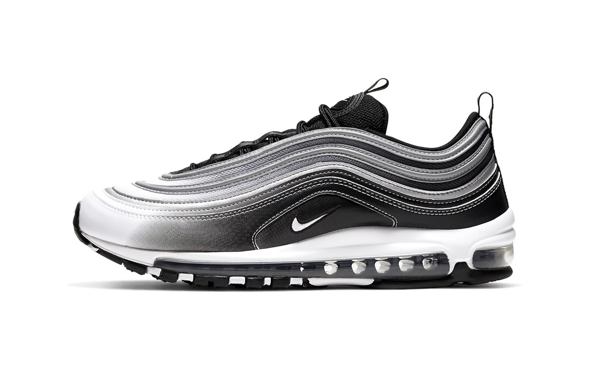 Nike Air Max 97 Faded Black Reflective Silver White Hypebeast