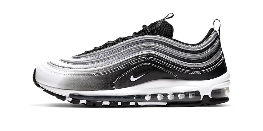 air max 97 grey black white