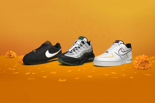 """Nike's """"Day of the Dead"""" Pack Celebrates One of Mexico's Most Well-Known Traditions"""