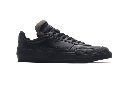 Nike Delivers a Premium Triple Black Leather Drop-Type LX