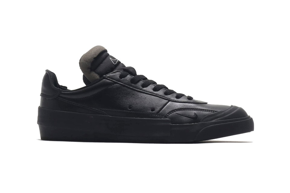 Nike Delivers a Premium Triple Black Leather Drop-Type LX