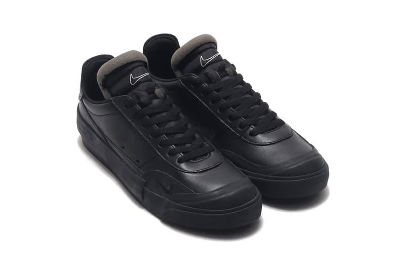 "Nike Drop-Type LX Premium ""Black/White"" Release Information Footwear Swoosh Brand Sneakers Drop Cop Online atmos Tokyo PRM Leather Court Shoe First Look Japan N. 354"