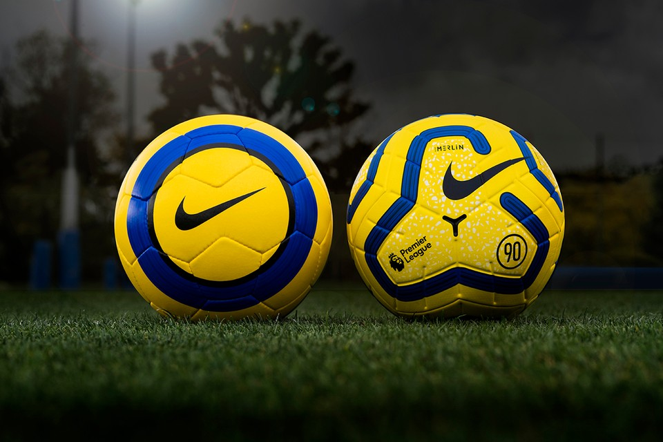 Nike Celebrates Iconic Total 90 With Hi-Vis New Premier League Match Ball