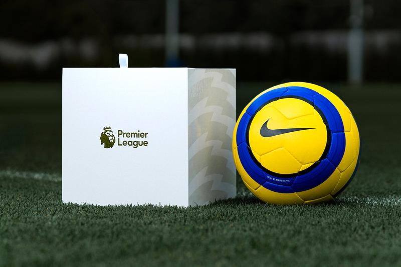 Nike Football Hi-Vis Merlin Premier League Match Ball release information winter total 90 recreation limited edition buy cop purchase order details