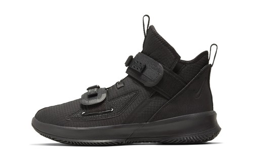 """Nike Drops the LeBron Soldier 13 in """"Triple Black"""""""