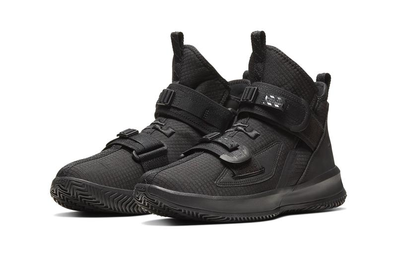 Nike LeBron Soldier 13 SFG Triple Black basketball strap finals king james lebron James kicks nike air react zoom air