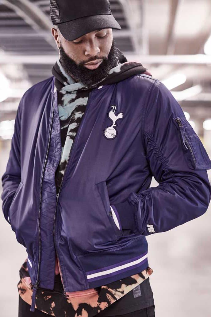 Nike & Odell Beckham Jr. Launch Spurs x NFL Collection football soccer lookbooks obj london