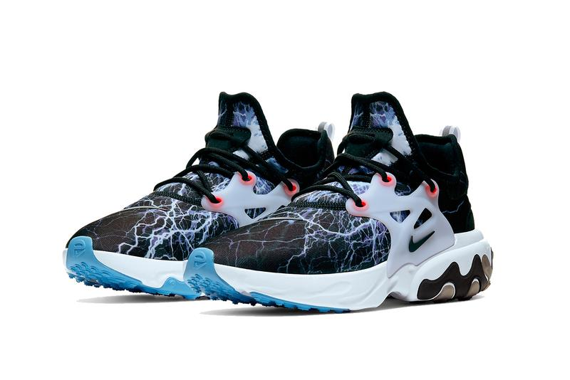 Nike Presto React Lightning Trouble at Home av2605-006 shoes kicks footwear running sportswear kicks React
