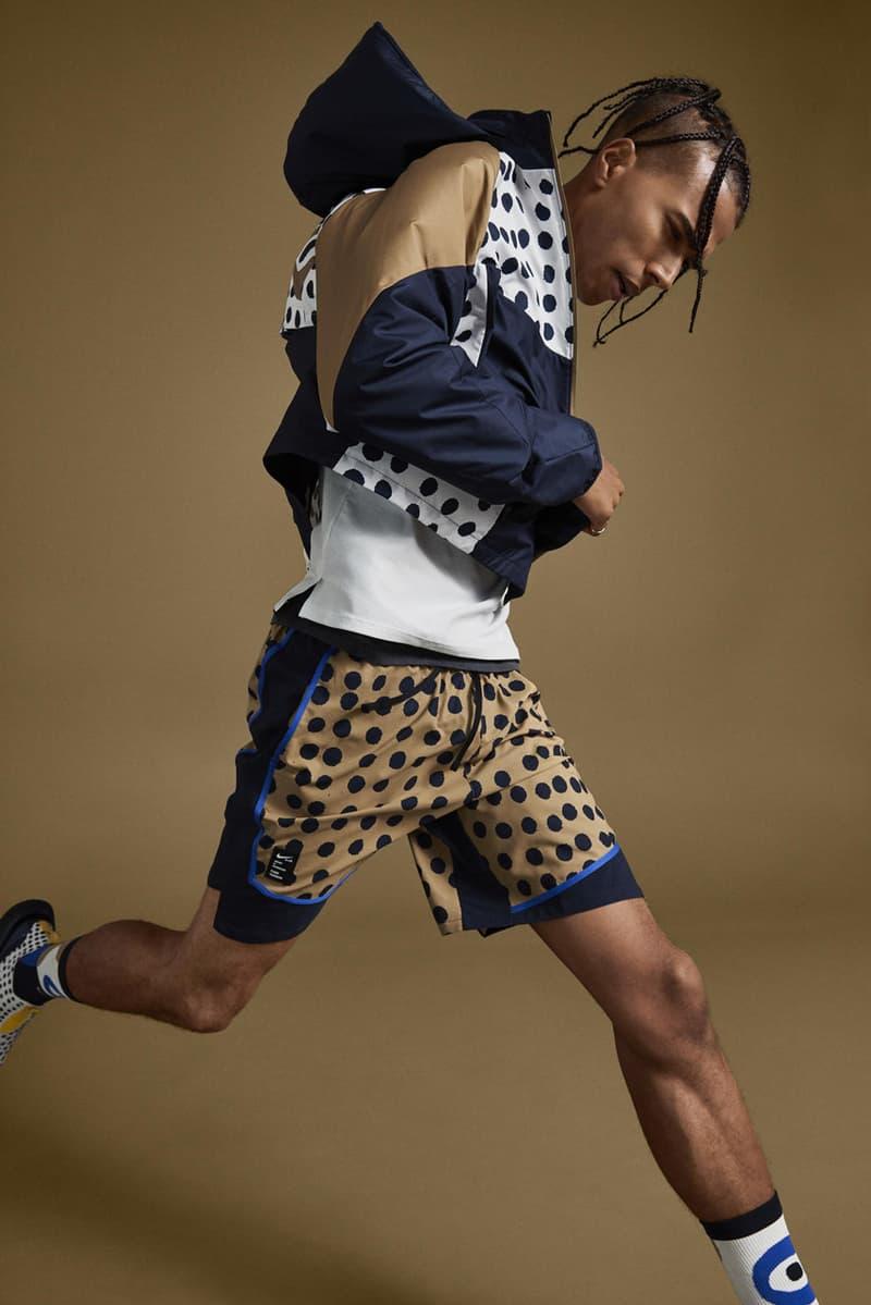 Cody Hudson Nike Running Shoes Zoom Pegasus 36 Epic React Flyknit Blue White Brown Yellow White Black Polka Dots