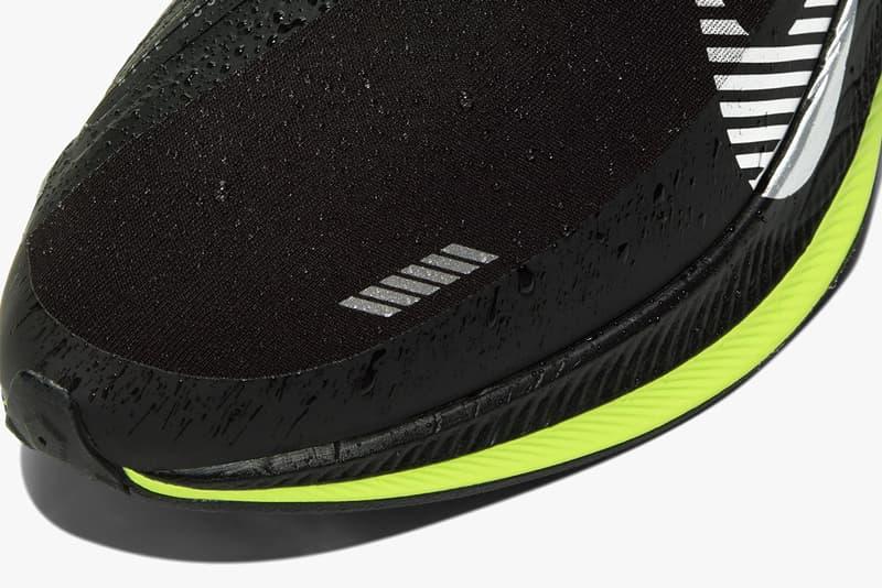 nike pegasus turbo shield release date bq1869002 running zoom x waterproof black white