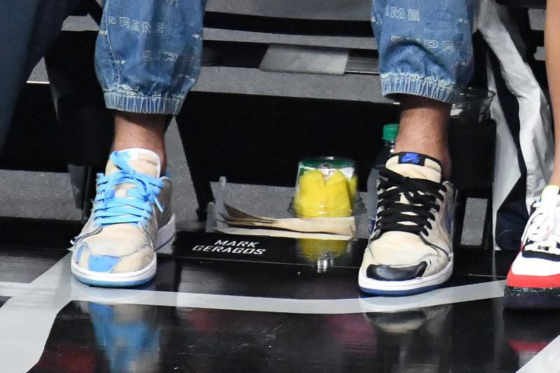 Nike SB Air Jordan 1 Low Desert Ore Teaser eric koston black blue beige