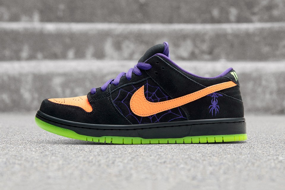 """Nike SB Gets in the Halloween Spirit With Dunk Low """"Night of Mischief"""""""