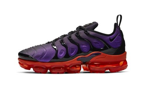 """Raptors Colors Appear on the Nike Air VaporMax Plus """"Voltage Purple"""""""
