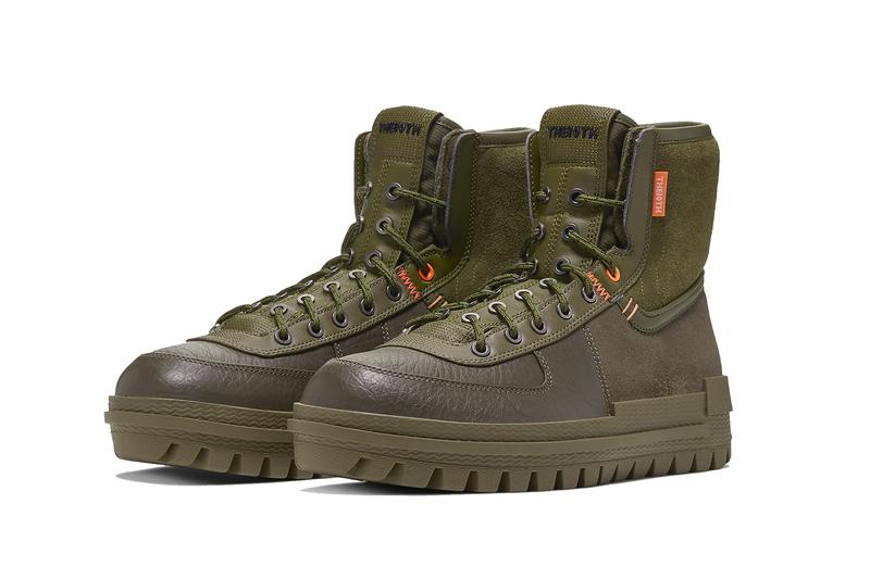 Nike Xarr Boot Release boots outwear winter snow rain military olive green sage green leather Air Force 1 shoes sneakers kicks the10th