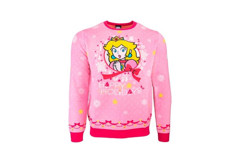 Nintendo Official Christmas Sweaters pikachu mario luigi bowser princess peach charmander squirtle bulbasaur jumpers geek store