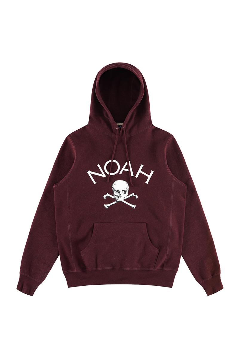 "NOAH ""Jolly Roger"" Fall/Winter 2019 Drop Release Information Capsule Collection First Look Outerwear Patchwork Hoodies T-Shirts Boots Wellingtons Wellies Pins Sperry Top Sider collection"